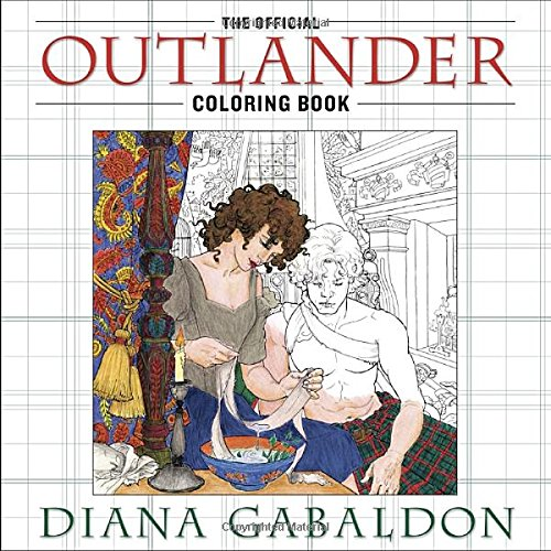 The Official Outlander Coloring Book  An Adult Coloring Book