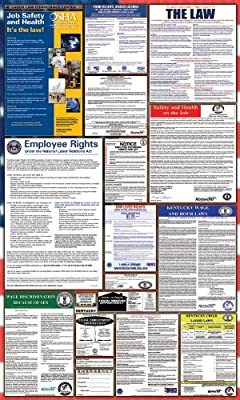 Kentucky / Federal Combination Labor Law Posters w/ NLRA