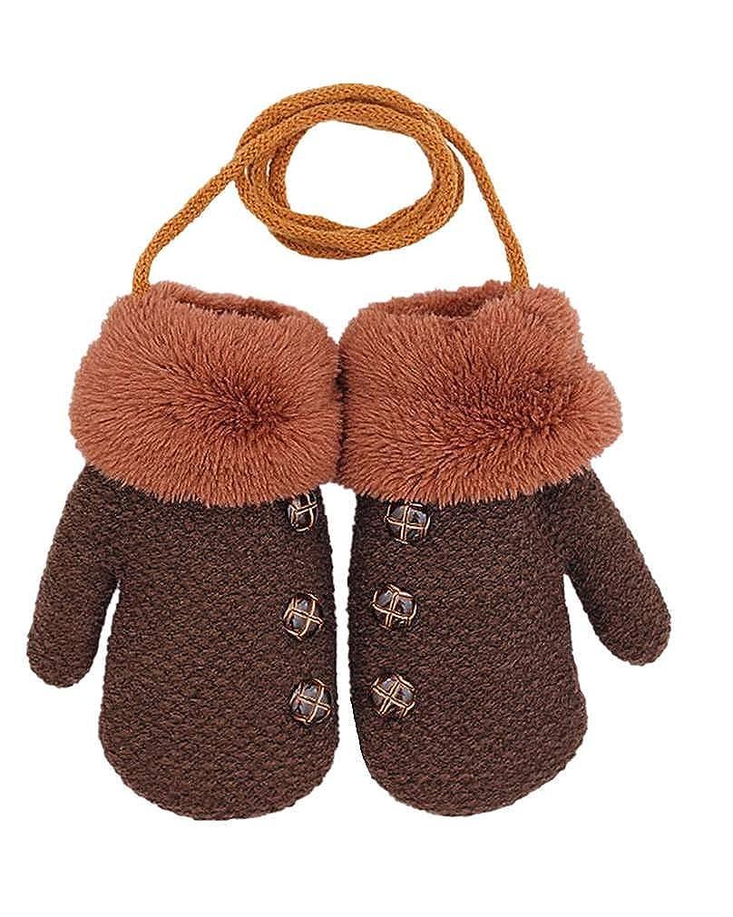 SAMGU Children Gloves Autumn Winter Kids Gloves Warm Boys Girls Mittens