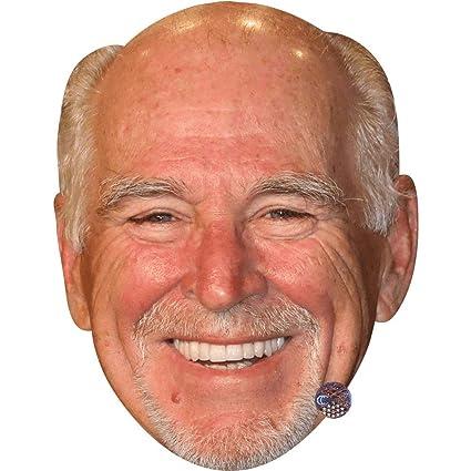 Amazon com: Jimmy Buffett (Smile) Celebrity Mask, Card Face