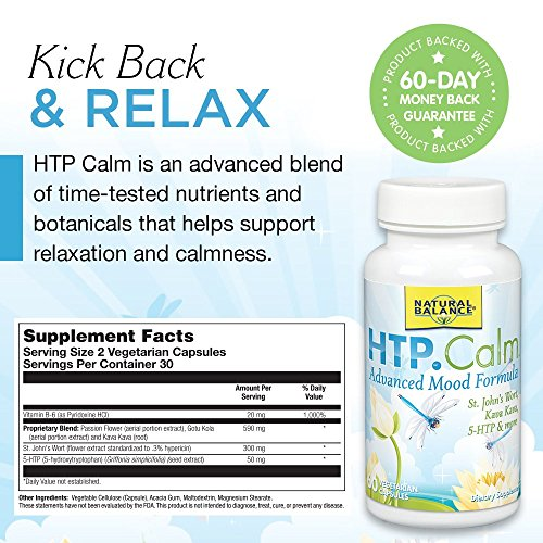 Natural Balance HTP, Calm, 60-Count by Natural Balance (Image #1)