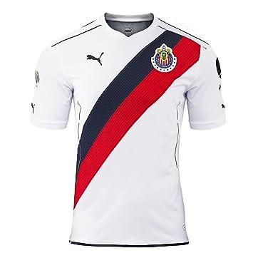 Puma - Réplica camiseta Chivas visitante 2016/17 blanca, ...