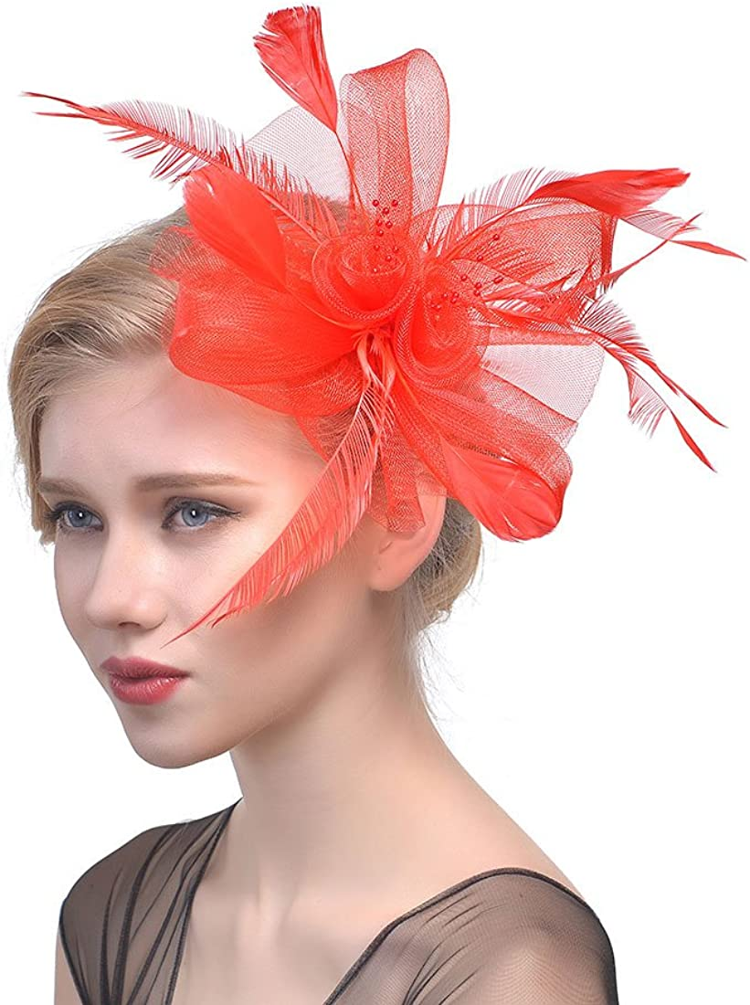 Women's Feather Fascinator...