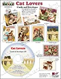 ScrapSMART - Cat Lovers Cards & Envelopes Software Collection: Microsoft Word, Jpeg, and PDF files (CARDCL154)