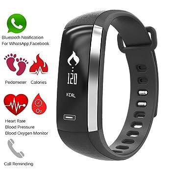R5 Pro M2 Smart Handgelenk Band Herzfrequenz Blutdruck Sauerstoff Oximeter Sport Armband Uhr Intelligente Für Ios Android Smartband Uhren Herrenuhren