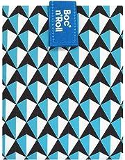 Roll'eat - Boc'n'Roll Tiles - Bolsa Merienda Porta Bocadillos Ecológica y Reutilizable sin BPA | Funda Bocadillo con Cierre Fácil Ajustable