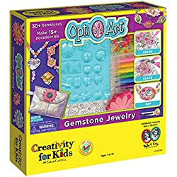 Creativity for Kids Opti-Art Gemstone Jewelry