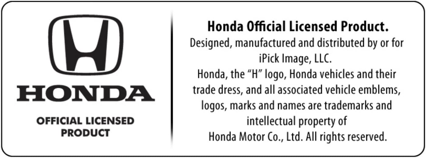 iPick Image for Honda Red Logo Civic Si Real Black Carbon Fiber Gunmetal Black Metal Teardrop Key Chain