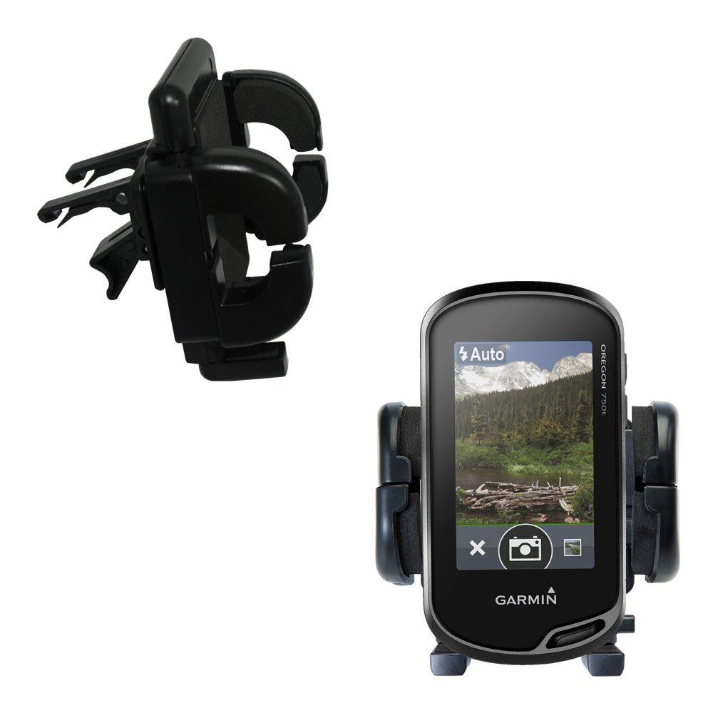Gomadic Air Vent Clip Based Cradle Holder Car/Auto Mount suitable for the Garmin Oregon 700