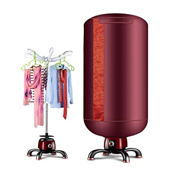 GUO@ Secador de ropa no poroso multifuncional Secador de casa bebé 900W 33 LB capacidad