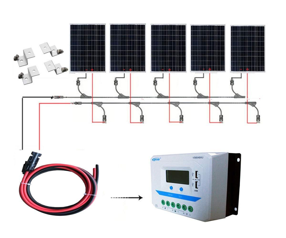 最前線の SAYA 5個 家庭用 90W ソーラーパネル 5個 450wモジュールキット 蓄電池充電 家庭用 SAYA B07LDQQLZS, フェルマート:b8fd0ab2 --- a0267596.xsph.ru