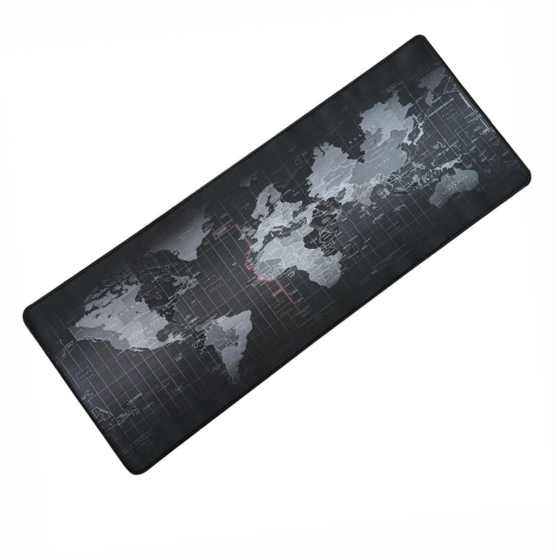 da gioco con superficie liscia e gomma antiscivolo bordi cuciti Hooyee Mouse pad//tappetino ampio