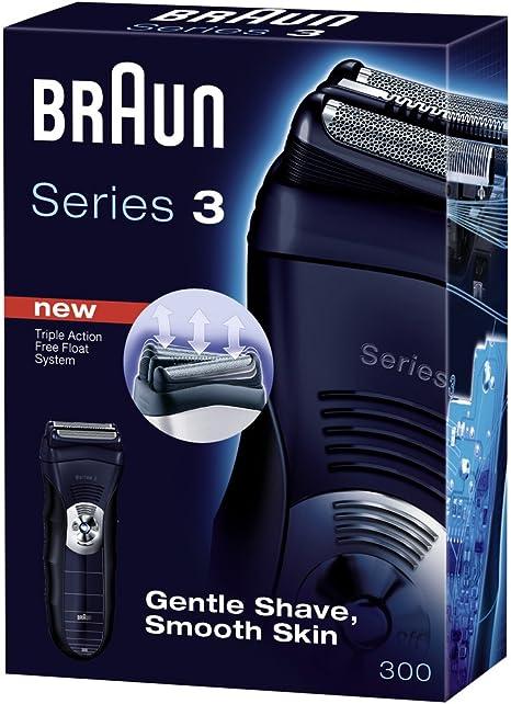 Braun 65778701 Series 3 300 - Afeitadora eléctrica: Amazon.es ...