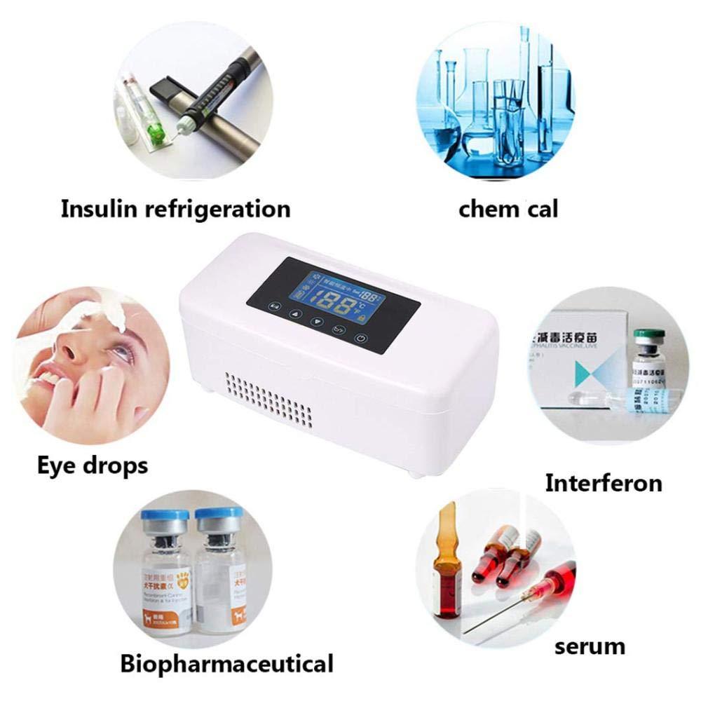 MGZDH Mini congelador de insulina portátil/congelador de ...