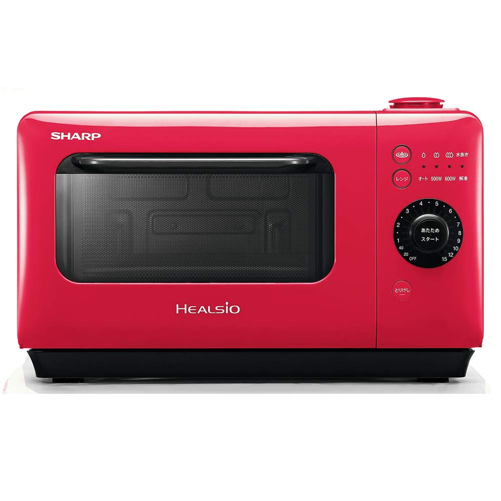 A SHARP Water Microwave Oven HEALSiO Gurierange AX-HR2-R (RED)【Japan Domestic genuine products】 【Ships from JAPAN】