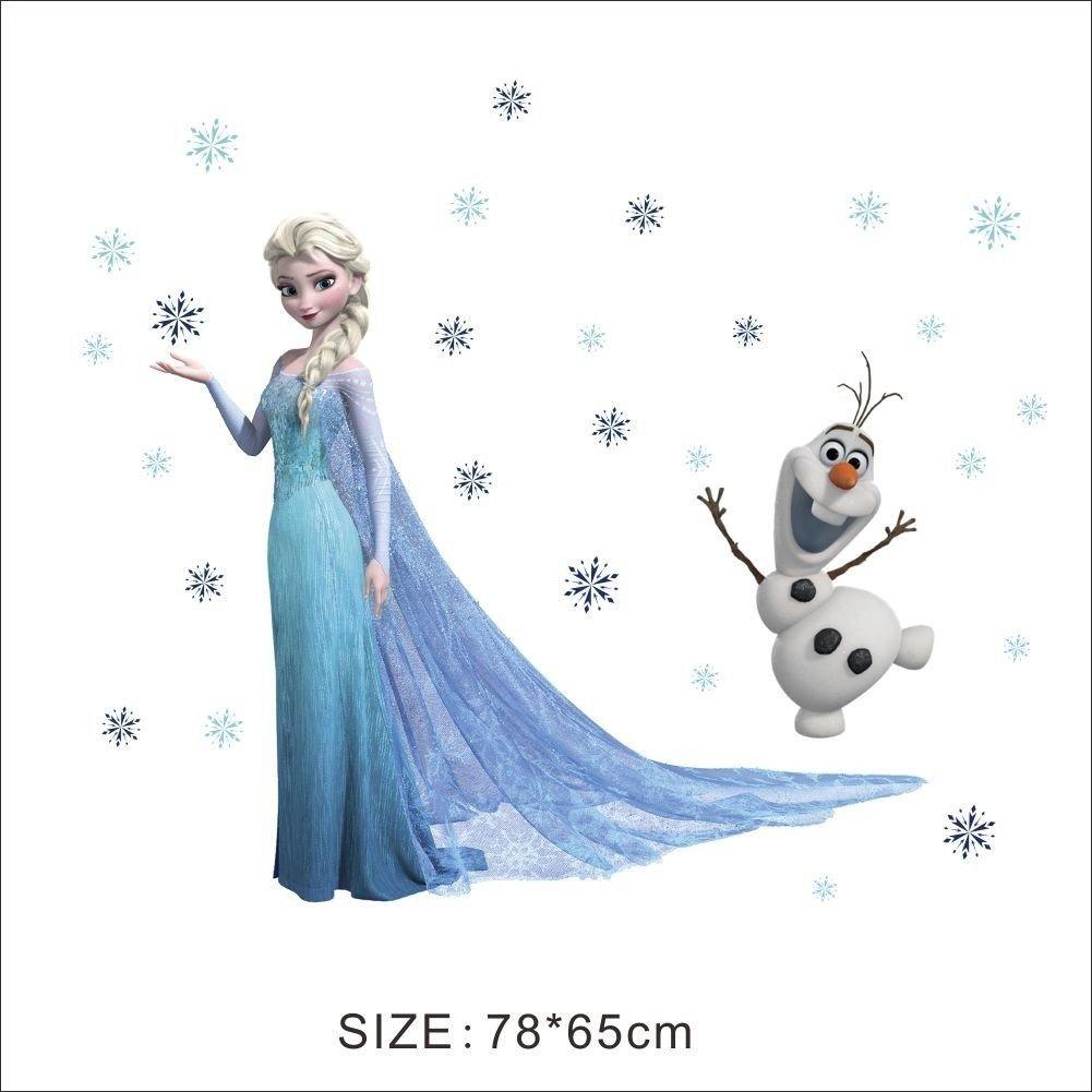 Wandtattoo Wandaufkleber Wandsticker Disney Frozen die Eiskönigin ...