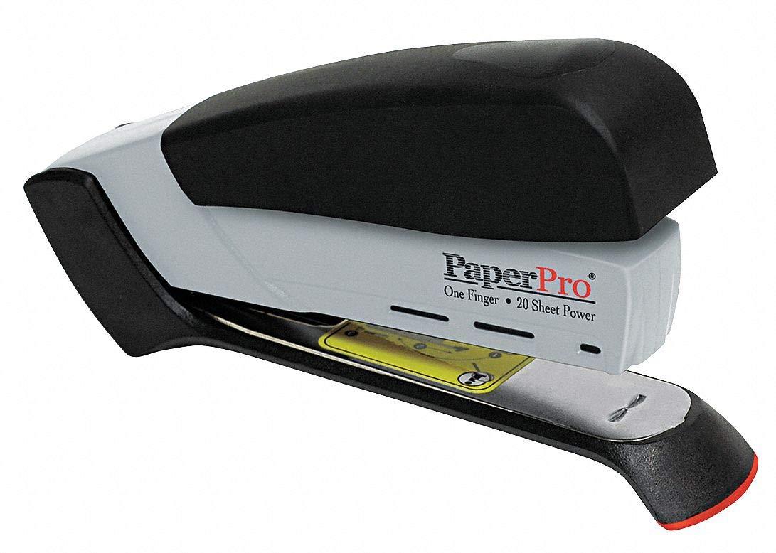 PAPERPRO Desktop Stapler, 20 Sheet, Black/Gray