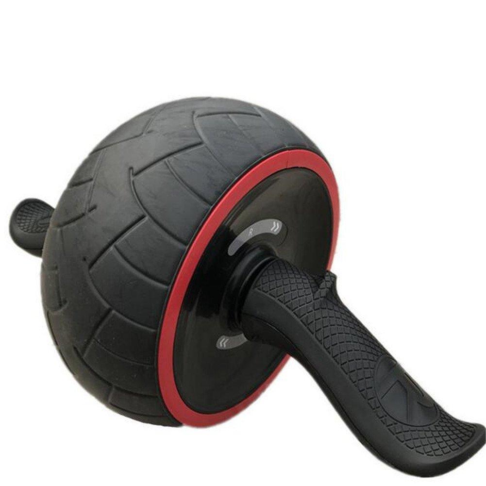 Bauchmuskelübungen Roller Wheel mit Kniepolster Selbsteinziehbare Bauch Workout Ausrüstung Ab Wheelroller Für Home Gym