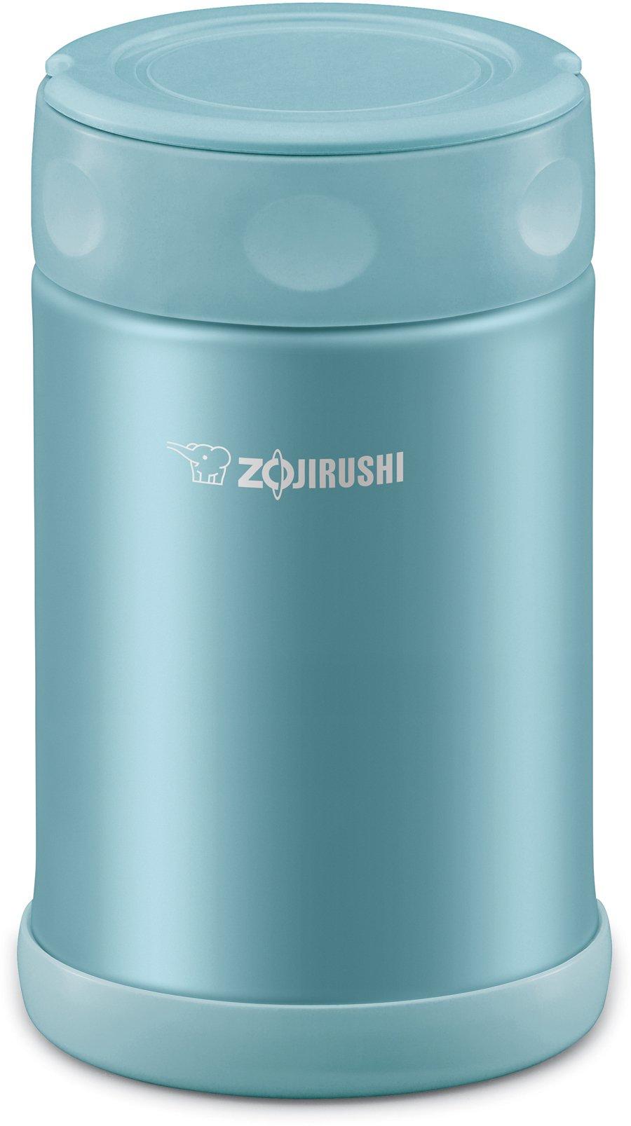 Zojirushi SW-EAE50AB Stainless Steel Food Jar, 17-Ounce/0.5-Liter, Aqua Blue