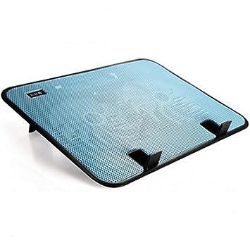 iwish 2016 Nuevo diseño USB Súper Ultra fina 2 ventiladores de refrigeración Cooler Pad para 13