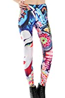 Pink Wind Ladies Sexy Galaxy Space Print Leggings Pant Stretch Tights