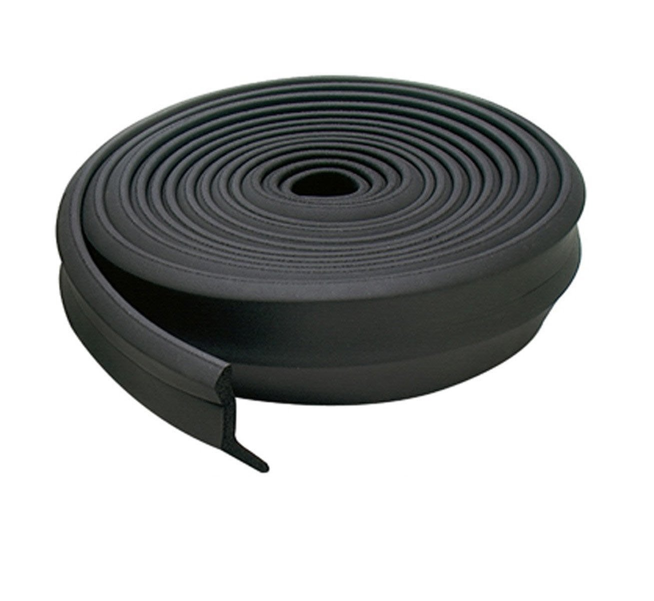 MD Building Products 44823 2-Inch by 100-Feet Rubber Garage Door Bottom