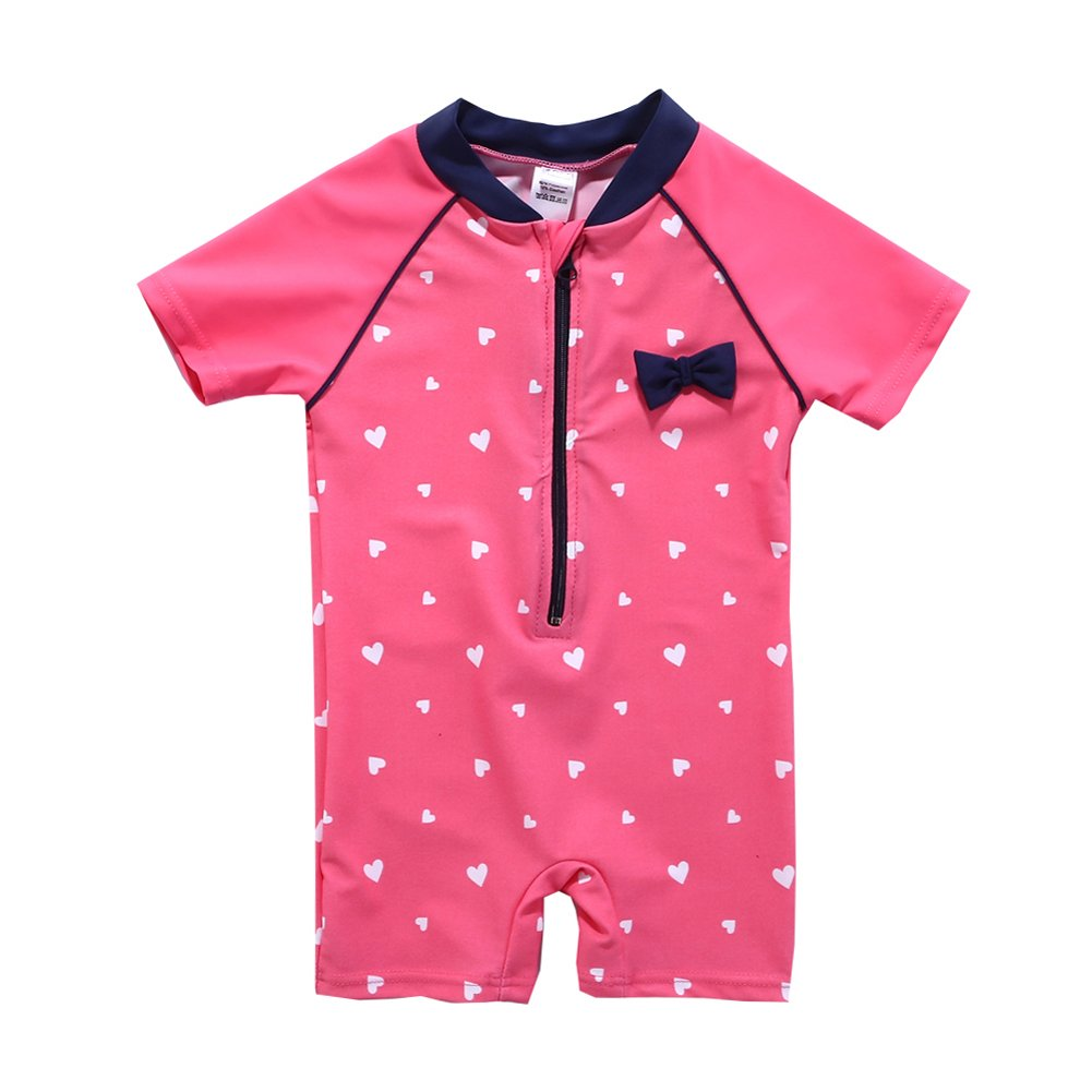 Vivafun Baby Girl One-Piece Swimwear UV Protective Sunsuit YILAN FUSHI CO.LTD