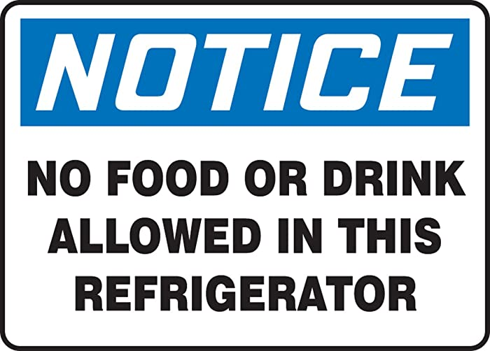 The Best No Food Allowed In This Refrigerator