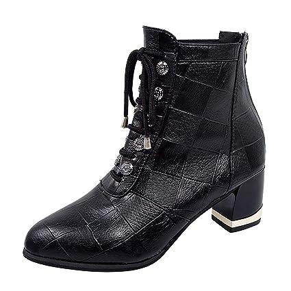 à Semelles Chaussures Bottes à Talon TIMEMEAN compensées P80XnwOk