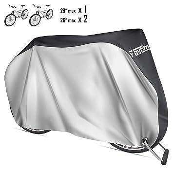 Favoto Funda para Bicicleta Exterior 210D Cubierta Protector al ...