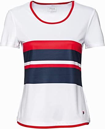 Fila Shirt Samira for Girls (WhitePeacoat Bluered) 164