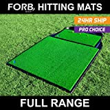 FORB Golf Hitting Mat Range - Launch Pads / Academy Practice Mat / Driving Range Hitting Mats [Net World Sports]