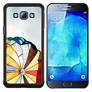 - Hot Air Balloon/ Duro Snap en el tel????fono celular de la cubierta - Cao - For Samsung Galaxy A8 A8000