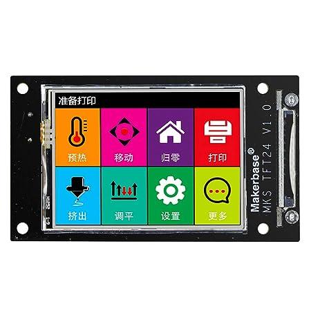 Festnight Impresora 3D Color tocado Controlador inteligente Mini ...