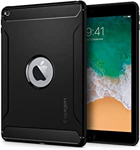 Spigen Rugged Armor Designed for iPad 9.7 Case iPad 5th/6th Generation Case (2017/2018) - Black