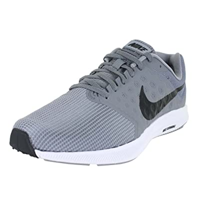 16f2630f0d56 NIKE Mens Downshifter 7 Stealth Black Cool Grey White Size 12. 5  Buy  Online at Low Prices in India - Amazon.in