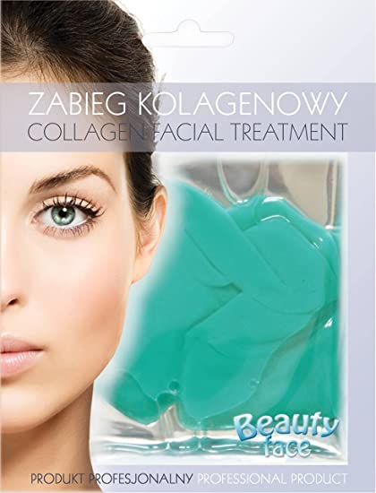 BEAUTY FACE - Máscara Facial - Energizante - Con Colágeno - Té Verde y Vitaminas –