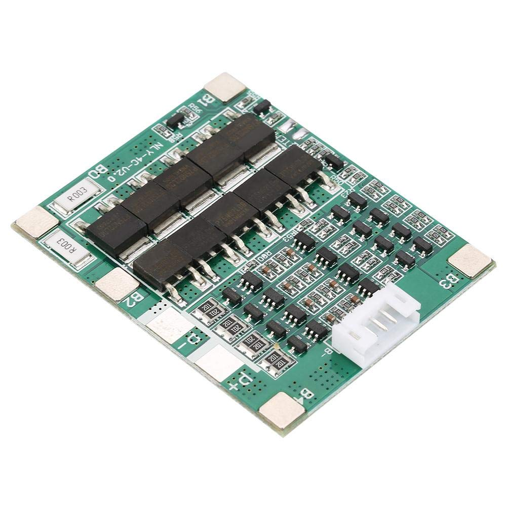 Akozon carte de protection de batterie au lithium 4S 50A 3.7V Li-ion Cell BMS Carte de circuit imprim/é