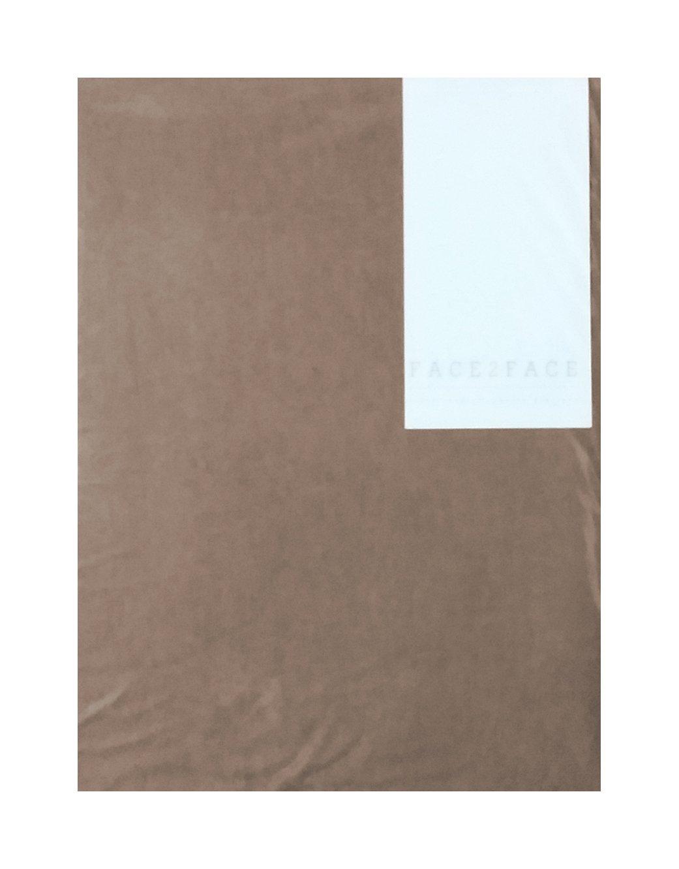 F2F Drap-housse uni ecru Coton 140 x 200 cm