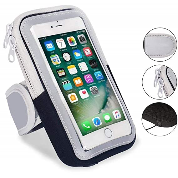 Universal Waterproof 5.5inch Sport Armband Belt Running Gym Bag Armband Pouch Case For Iphone 7plus 8plus Xplus With Key Holder Cellphones & Telecommunications