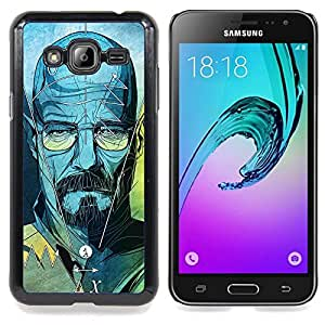 - Series Original Meth Walter Tv Jesse - - Snap-On Rugged Hard Cover Case Funny HouseFOR Samsung Galaxy J3