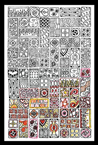 Design Works Crafts 4034 Zenbroidery Fabric USA Map