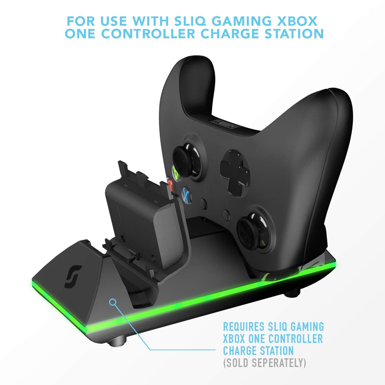 Amazon.com: Sliq Gaming Xbox One Dual Battery Pack: Home ...