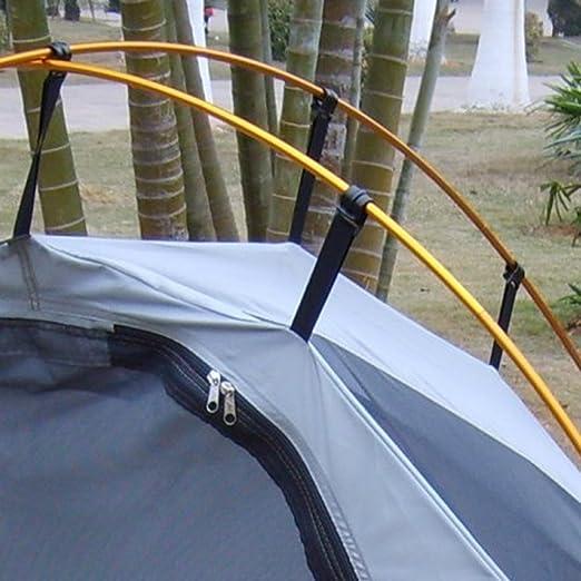 Sharplace 20pcs Schwarz Kunststoff Camping Vorzelt C-Clips f/ür 7mm-10mm Zeltstange Clip Spanner f/ür Abdeckplane Zelt Plane Planenhalter Zeltstange Halterung Haken
