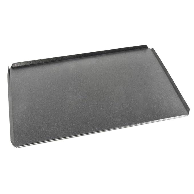 AMT Gastro GN 2/3 - Bandeja de Horno Antiadherente (37 x 32,5 cm, Aluminio Fundido, 2 mm de Altura): Amazon.es: Hogar