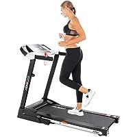 Miweba Sports elektrisches Laufband HT1500-1,75 PS - 14 km/h - 12+6 Laufprogramme - Tablet Halterung - große Lauffläche - klappbar