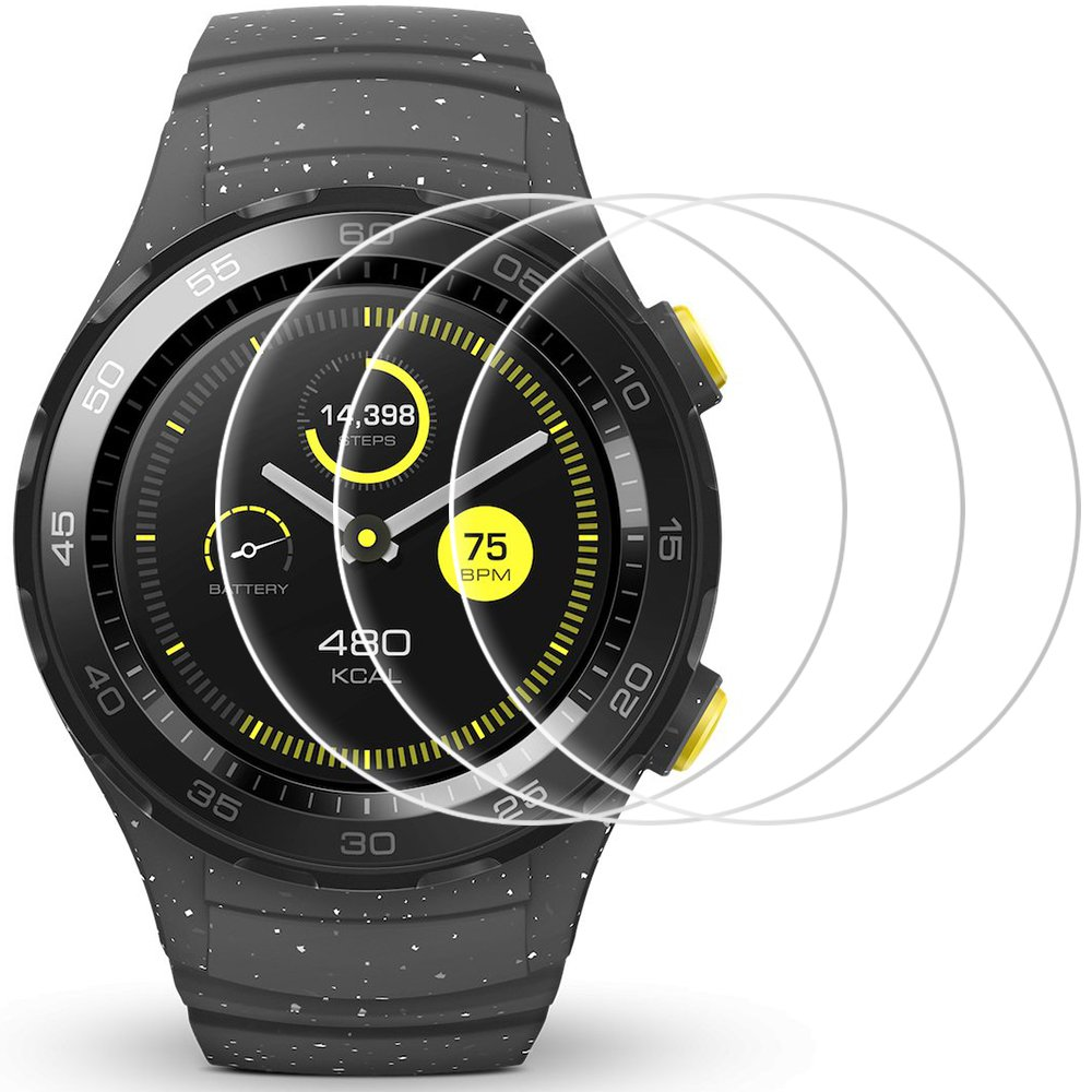 Film Protector Para Huawei Watch 2 Afunta (3 Unidades)-6zzh2k95