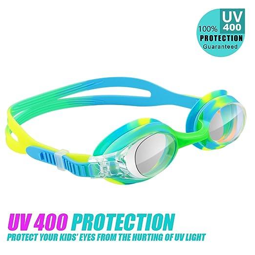 Kids Recreational Swim Goggle 12-Pack Black / Green Speedo Kids Skoogles