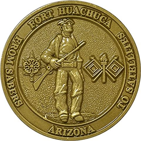 Fort Huachuca Challenge Coin (Military Fort)