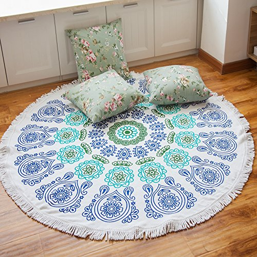 Cotton Thick Round Beach Towel product image